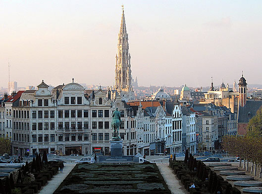 Brussels, the capital city and largest metropolitan area of Belgium