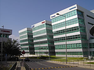 Oeiras houses many multinational companies operating in Portugal.
