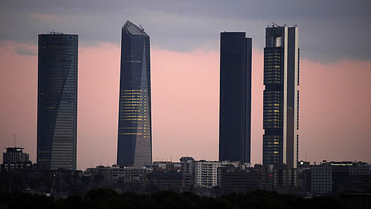 Madrid: Cuatro Torres Business Area