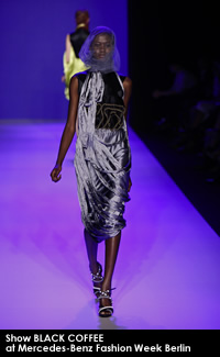 Show BLACK COFFEE at Mercedes-Benz Fashion Week Berlin
