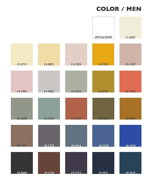 Autumn/Winter 2013-2014: Hands On - Lenzing Colors / Color Trends