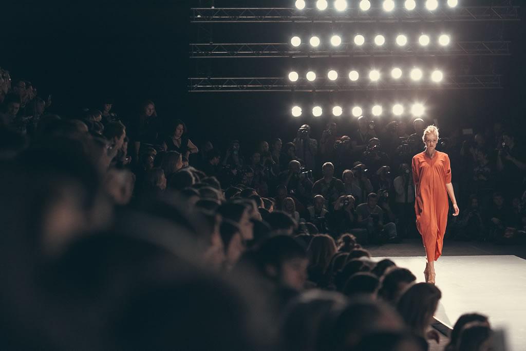 Lena Karnauhova at Mercedes-Benz Fashion Week Russia