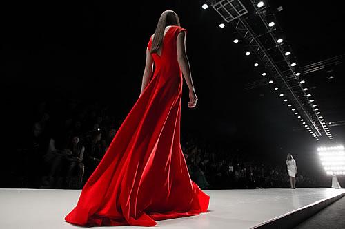 Tegin at Mercedes-Benz Fashion Week Russia