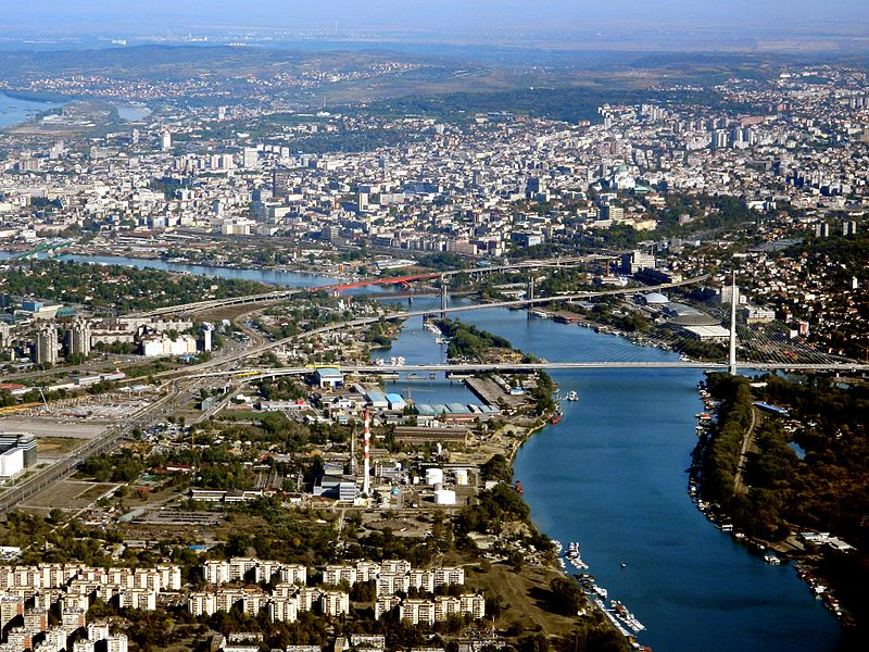 Ada Bridge, Belgrade, Serbia | Creative Industries Serbia | Creative Economy