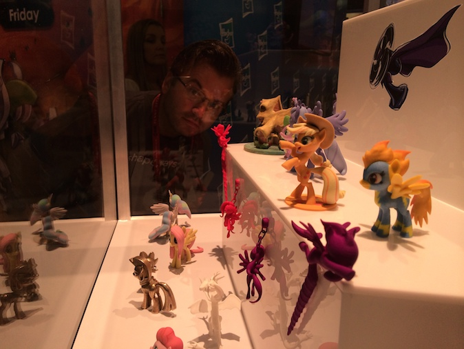 3D Printing / Day One of 3D Printed SuperFanArt at Comicon 2014 in San Diego