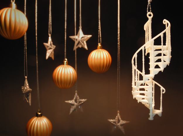 3D Printing / Spiral Staircase Ornament by PrettySmallThings