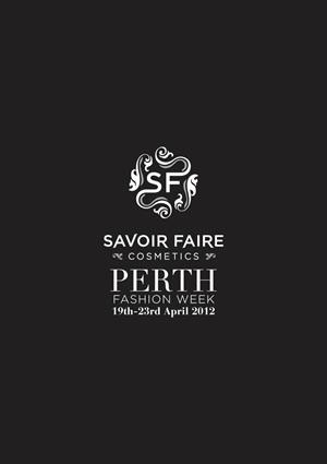 Savoir Faire Perth Fashion Week logo