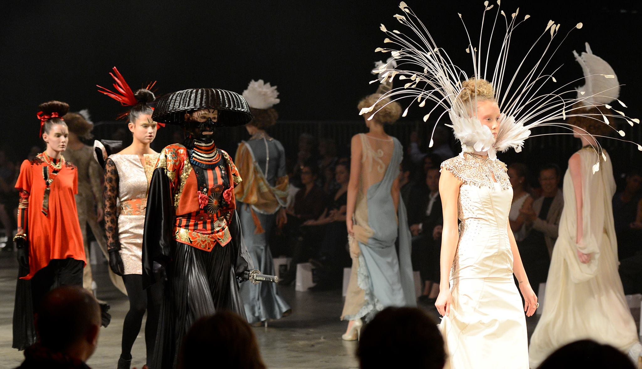 Melinda Looi at Perth Fashion Week 2012