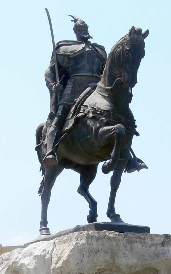 Skanderbeg Monument in Tirana, Albania | Albania Fashion Week | Albania, Europe