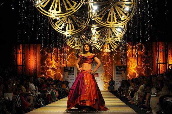 Shilpa Shetty   Wills Lifestyle India Fashion Week   India