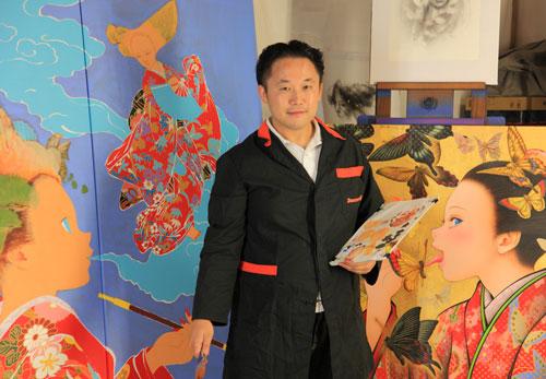 Yoshiyasu Tamura portret