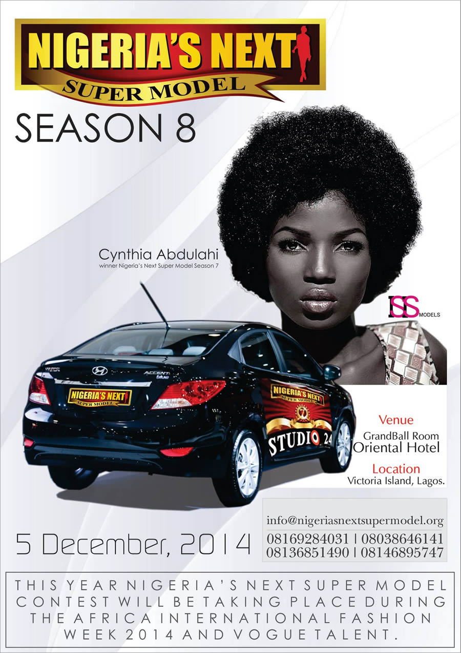 Nigeria's Next Super Model | Africa International Fashion Week 2014