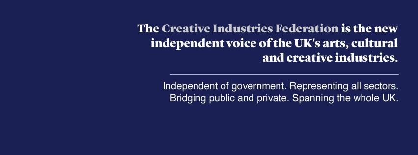 Creative Industries Federation   United Kingdom