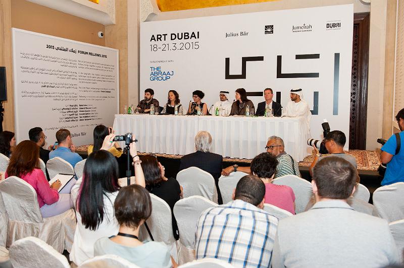 Art Dubai 2015 Opening Press Conference / Courtesy: The Studio