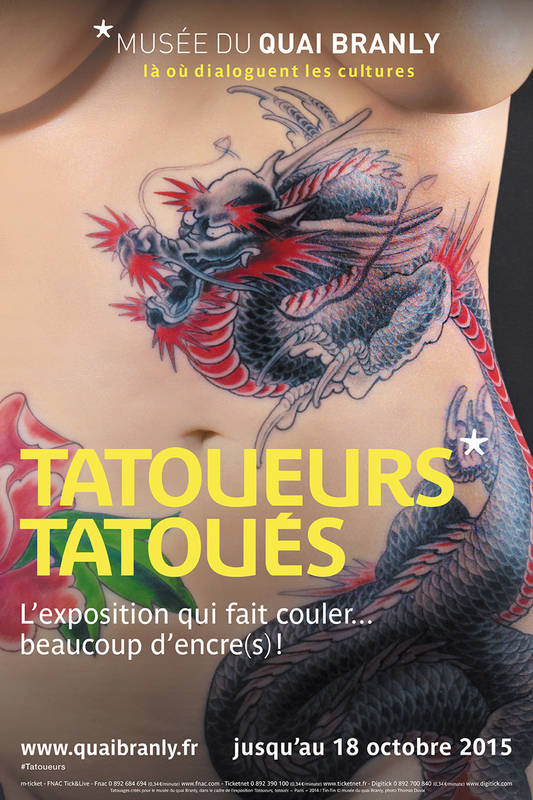 Tattoo exhibition at Quai Branly Museum