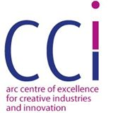Logo ARC Centre for Creativity and Innovation at the Queensland University of Technology