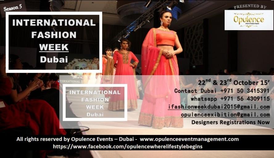 International Fashion Week Dubai 2015