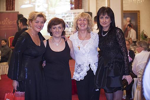 4 EFC member states – from the right Nadya VALEVA, Gabriella WALEK, Svetlana HORVAT, Amela RADAN