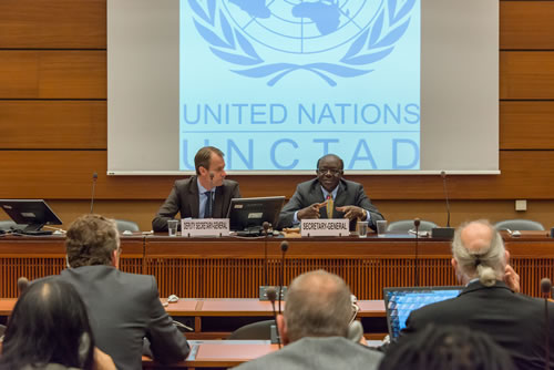 Civil Society meets UNCTAD S-G