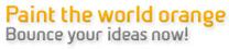 Paint the World Orange - Netherlands/Nederland Creatieve Industrie