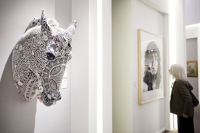 Work by Joana Vasconcelos at TEFAF 2013 Photo: Loraine Bodewes