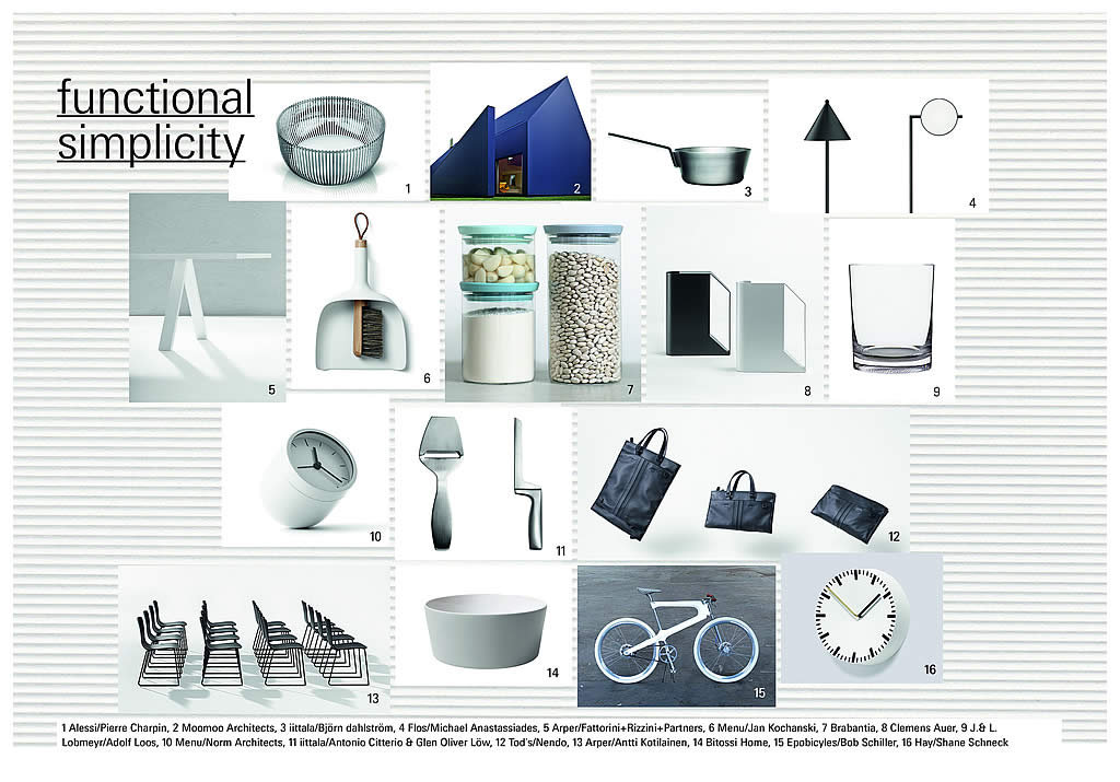 Ambiente Trends 2016 Functional simplicity: getting it just right