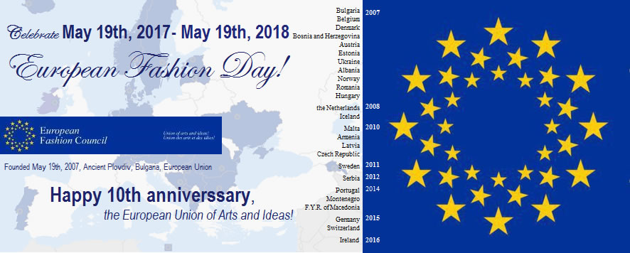 European Fashion Day, May 19