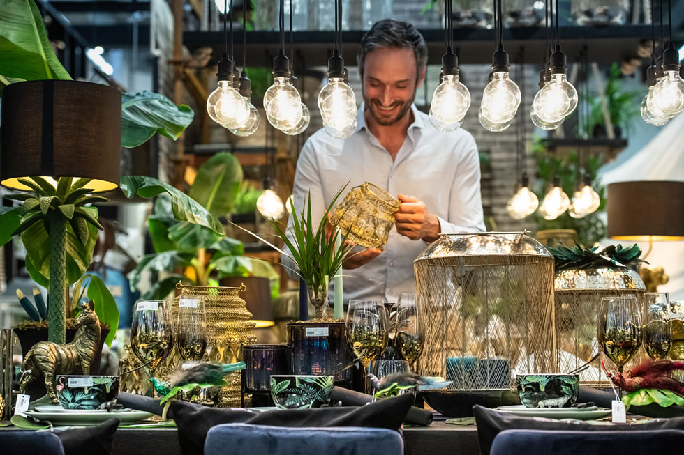 Tendence Trends 2019/2020: Jungle colours are set to create a new look for Christmas table decorations