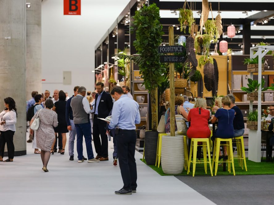 Tendence Trends 2019/2020: Networking and ordering in Hall 11.0 at Tendence 2019