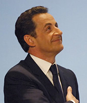 President of France: Nicolas Sarkozy
