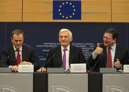 President of the European Parliament Mr. Jerzy BUZEK, the Prime Minister of Poland Mr. Donald TUSK and President of European Commission Mr. José Manuel BARROSO