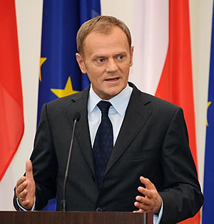 Prime Minister Donald Tusk of Poland