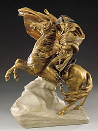 World Napoleon Fashion Award Trophy