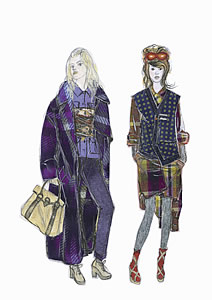 CIFF Fashion Trends Autumn/Winter 2007-2008 - Eclectic Chic