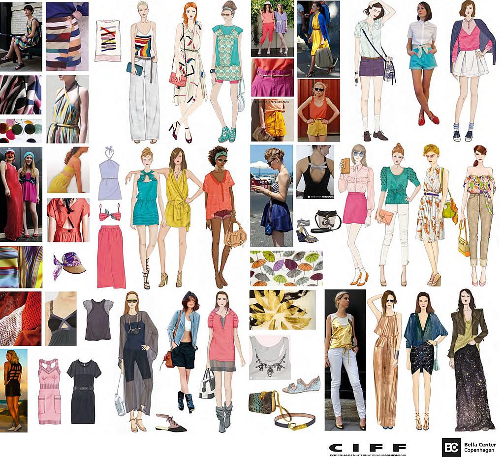 CIFF Fashion Trends Spring/Summer 2012 - Technicolor Summer