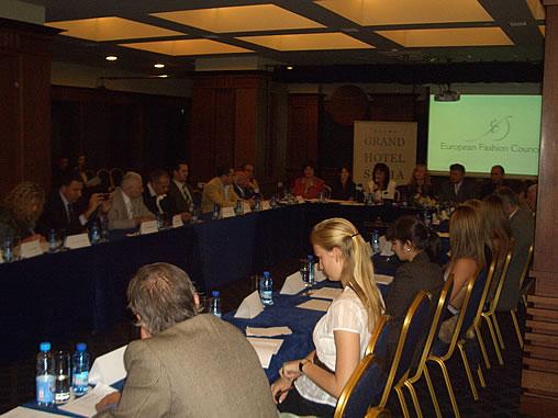European Fashion council 3 October 2007, Sofia