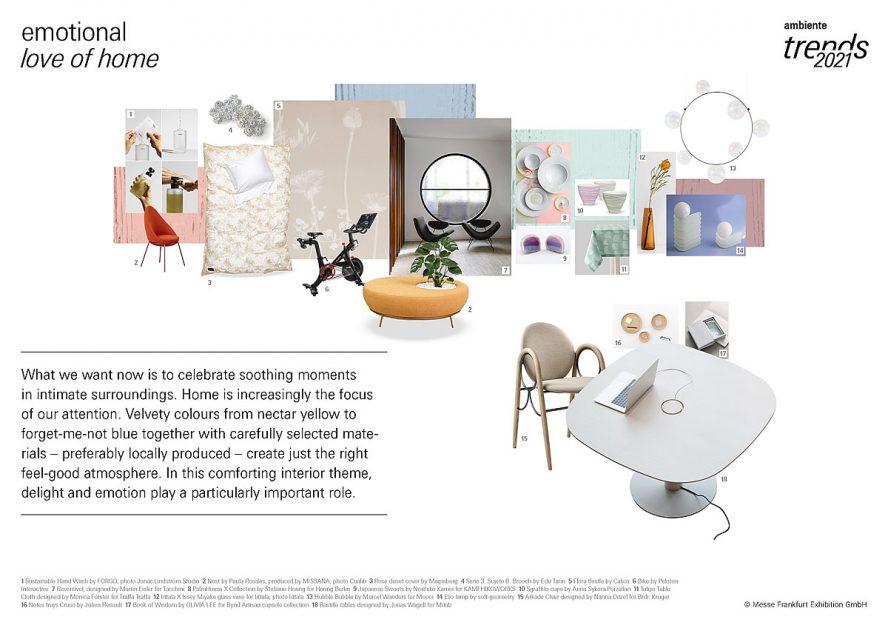 Ambiente Trends 2021 Home Interior Design