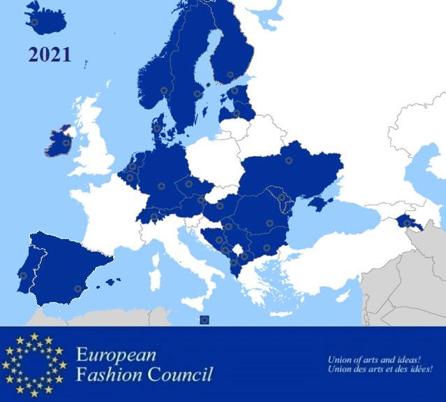 Fashion map of the EFC 2021